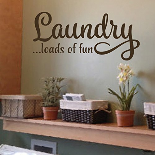 Laundry loads of fun Vinyl Wall Decal by Wild Eyes Signs. La