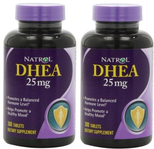 Natrol Dhea 25mg Tablets 300