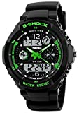 SKMEI Military Digital Watch Waterproof LED Multifunctional Dual Dispaly Sport Electronic Wristwatch