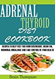 img - for ADRENAL THYROID DIET COOKBOOK:: Recipes T0 help Fight against Overweight, Brain Fog, Hormonal Imbalance and live a healthy lifestyle. book / textbook / text book