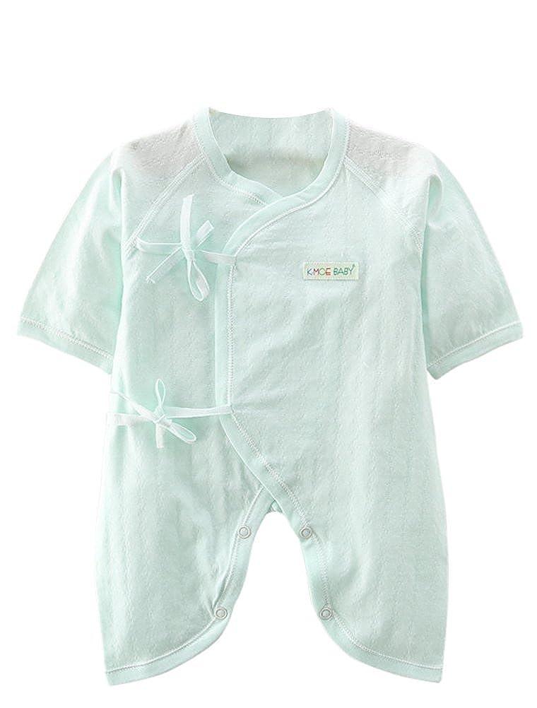 Babynice Barboteuse Bébé Enfant Respirant Manche Courte en Coton Eté Body  Combinaison Nœud Papillon Bébé 0-9 Mois  Amazon.fr  Vêtements et accessoires 770cb2c8bae
