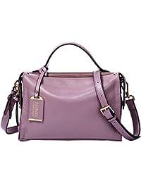 Women's Leather Hobo Handbags Purse Cross Body Totes Shoulder Top-Handle Bags