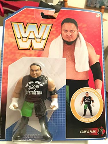 WWE Samoa Joe Retro App Action Figure (Retro Action Figures)