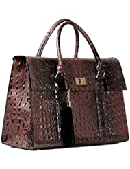 16 Stylish Designer Faux Leather Laptop / Ipad / Tablet Handbag Shoulder Bag Womens Executive Fashion Briefcase...