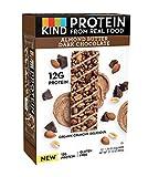 KIND Protein Bars, Almond Butter Dark Chocolate, Gluten Free, 12g Protein, 1.76oz, 12 Count