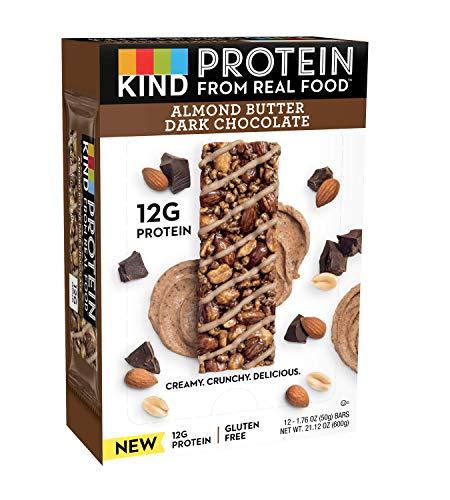 KIND Protein Bars, Crunchy Peanut Butter, Gluten Free