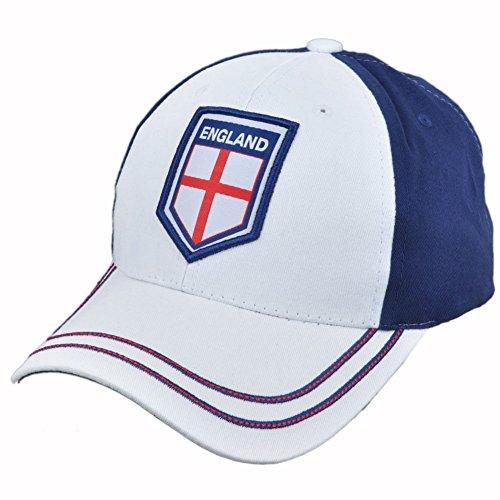 Rhinox England FC 2018 World Cup Soccer Football Sun Buckle Hat Cap