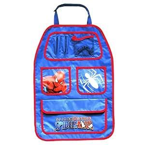 Marvel 7050006 - Organizador para asiento trasero de coche con diseño de Spiderman, color azul
