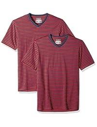 Amazon Essentials camisetas de manga corta con cuello en V para hombre