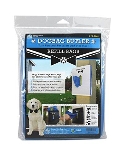 Image of Doggie Walk Bags Butler Refills, Pink