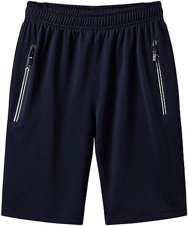 PARVAL Hombres Tallas Grandes Pantalones Cortos clásicos ...
