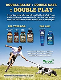 CanineActiv Small Breed Safe Non-Toxic Pain Relief for Dogs Weighing Less than 25 lbs, Bottle of 90 Capsules (150 mg)