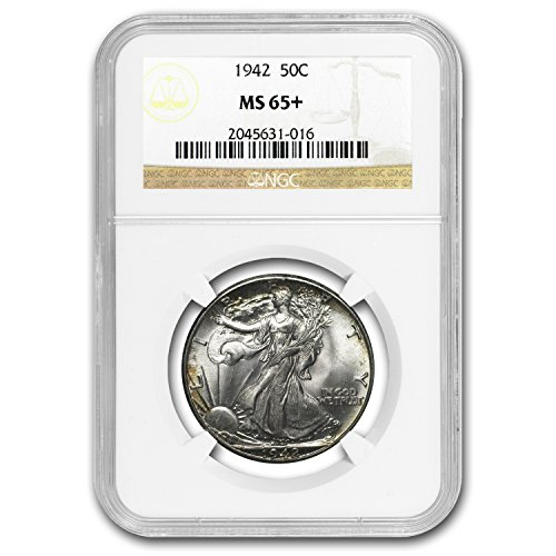 1942 Walking Liberty Half Dollar MS-65 NGC Half Dollar MS-65 NGC