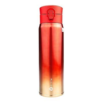 Taza Térmica Acero Inoxidable - Botella Aislada con Doble ...