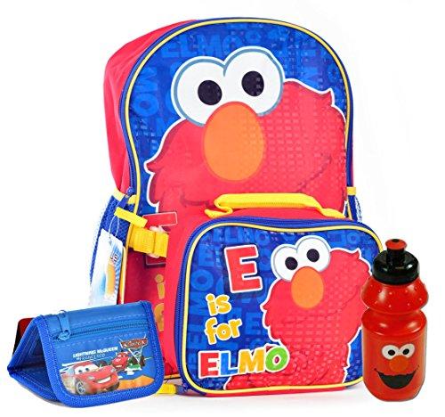 Elmo Backpack Combo Detachable Wallet