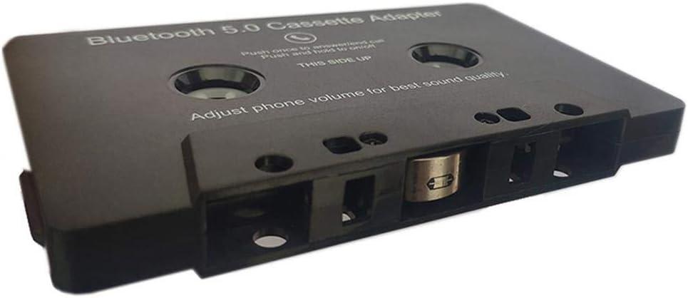 Convertisseur Bande,Adaptateur De Cassette Audio Bluetooth Universel Vers Auxiliaire Pour Smartphone Adaptateur De Cassette Pour Batterie Int/égr/ée De Voiture