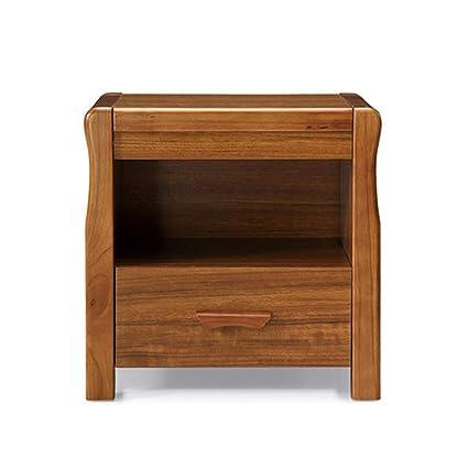 Amazon.com: ZZHF Mesita de noche, moderno marco de madera ...