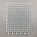 Multifunctional White Fish Tank Bottom Strainer Board Support Plate Isolation Board Isolation Net Grid Plate