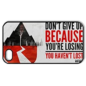 CTSLR Music & Band Series Protective Snap-on Hard Back Case Cover for iPhone 4 & 4S - 1 Pack - Sleeping with Sirens - 78