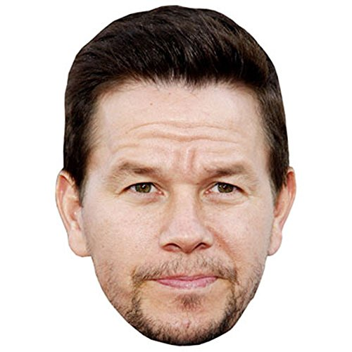 Mark Wahlberg Mask  Cardboard Face And Fancy Dress Mask
