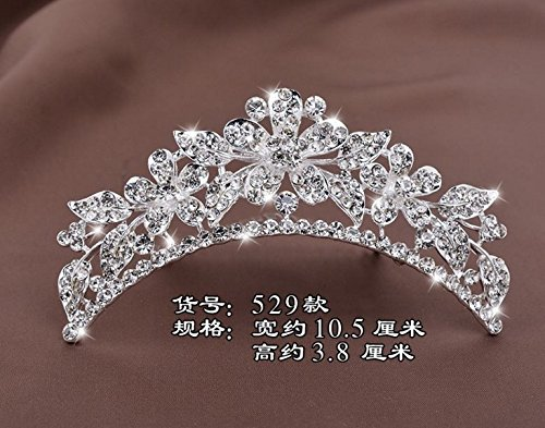Price comparison product image Quantity 1x Crown Tiara Party Wedding Headband Women Bridal Princess Birthday Girl Gift Headdress children Girls _Cinderella_ Hair Princess Birthday Crown Tiara Party Wedding Headband Women Bridal Pri