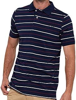 Brakeburn Yarn Dye, T-Shirt Uomo, Navy, M BBMSST001609F17
