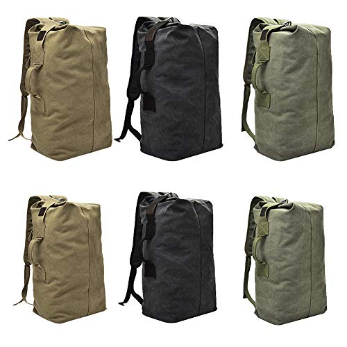 Backpack Outdoor Capacity S Women CHARMA Male Large Green Shoulder Men's Fashion Canvas Sports Travel Bag XAX4gqSw