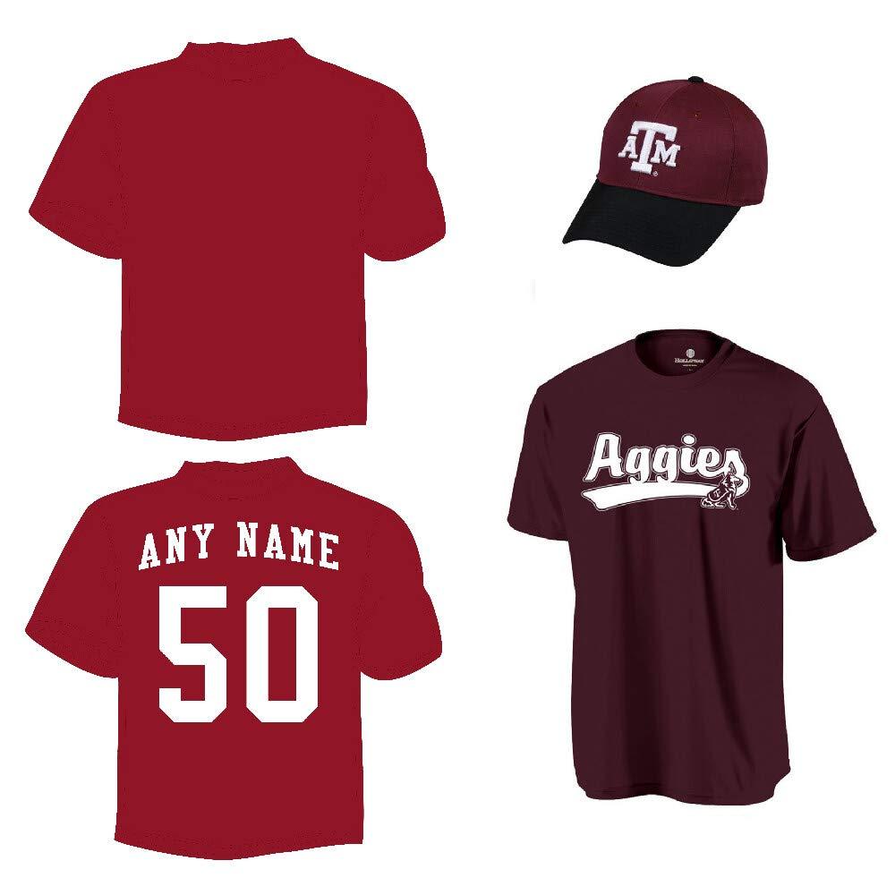 Desconocido Texas A&M Aggies Gorra & Jersey Custom o en Blanco ...