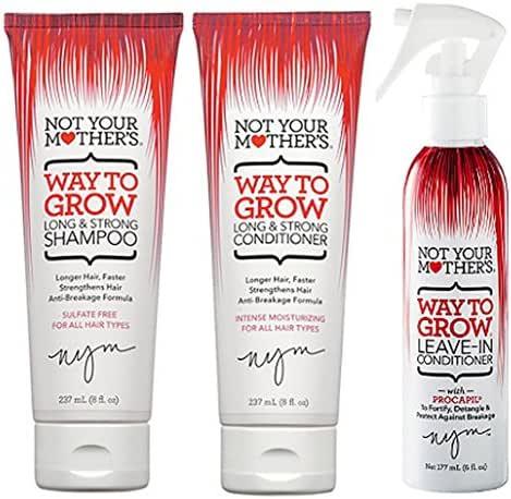 Not Your Mother's Way to Grow Bundle, Shampoo/Conditioner/Leave-In