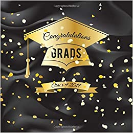 Class of 2019 Guest Book Congratulatory Message Book Memory Year Book Keepsake Scrapbook For Family Friends To Write In Congratulation Grads
