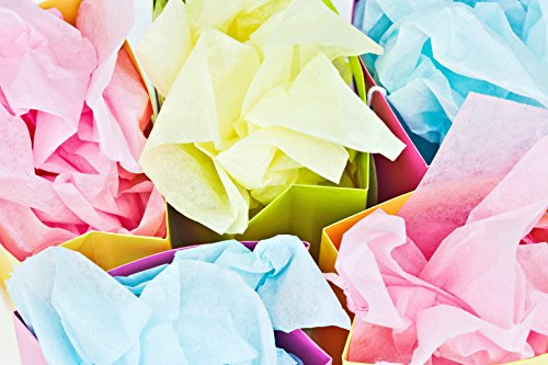 Review Colored Tissue Paper 100
