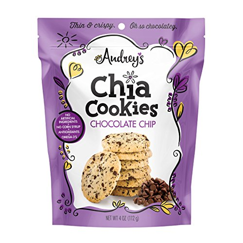 Cheap Audrey's Chia Cookies, Non-GMO (Chocolate Chip, 2 PK) packed with premium quality ingredients