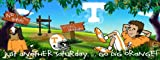 Tennessee Volunteers Vols UT Sports Wall Mural Wallpaper 4' x 10'
