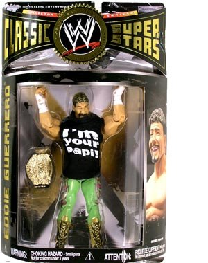 WWE Wrestling Classic Superstars Series 17 Action Figure Eddie Guerrero