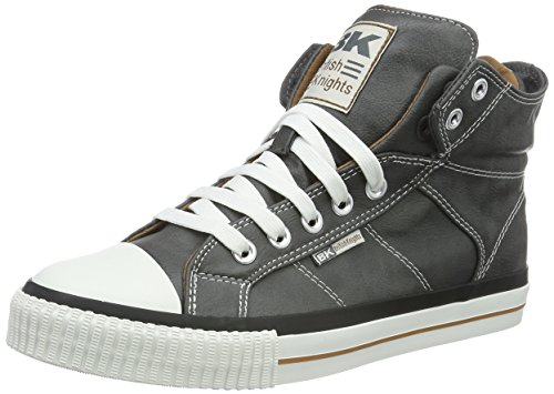British Knights Herren ROCO High-Top Grau (Dk Grey/Cognac 08)