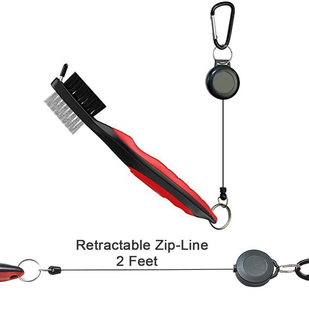 Amazon.com: Cepillo para palos de golf y limpiador de ...