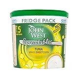 John West Fridge Pack Tuna Mayo Sweetcorn 255g - Pack of 2