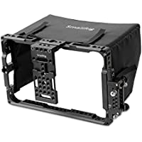 SmallRig 7 Directors Monitor Cage 2008 with Sun Hood/Sunshade for ATOMOS Shogun Inferno, Ninja Inferno, Shogun Flame, Ninja Flame 7 Monitors