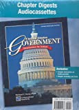 United States Government: Democracy in Action, Chapter Digests Audiocassette Package (GOVERNMENT IN THE U.S.)