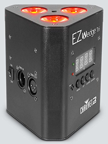 CHAUVET DJ EZwedge Tri Battery-Operated Tri-Color LED Wash Light w/Infared Remote Control by CHAUVET DJ (Image #3)