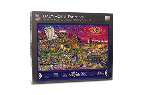 Joe Journeyman NFL Baltimore Ravens Jigsaw Puzzle, 500-Piece