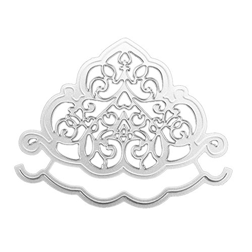 Topunder New Snowflake Metal Cutting Dies Stencils DIY Scrapbooking Album Paper Card]()