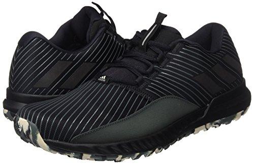 adidas CrazyTrain Pro TRF M - Zapatillas deportivas para Hombre, Negro - (NEGBAS/NEGBAS/HIEUTI) 46