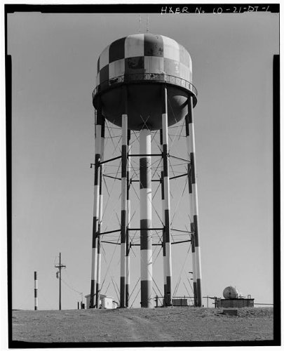 HistoricalFindings Photo: Rocky Mountain Arsenal,Water Tower,Commerce City,Adams County,Colorado,CO