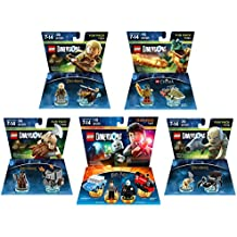 Harry Potter Team Pack + The Lord Of The Rings Legolas Gimli Gollum + The Legend Of Chima Cragger Fun Packs - LEGO Dimensions - Not Machine Specific