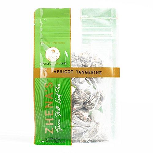 Zhena's Apricot Tangerine Green Tea 1 oz each (1 Item Per Order, not per case)