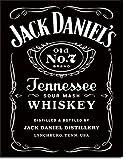 Jack Daniels Licensed Barware 5199 Label Tin Sign one size Black