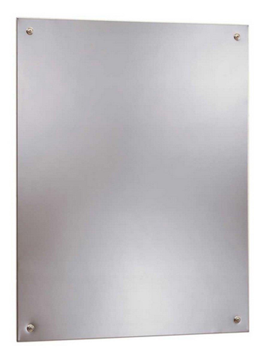 Amazon.com: Bobrick 1556 Series 430 Stainless Steel Frameless ...
