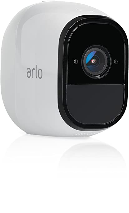 Arlo Pro - Add-on Camera | Rechargeable, Night vision, Indoor/Outdoor, HD  Video, 2-Way Audio, Wall Mount | Cloud Storage Included | Works with Arlo