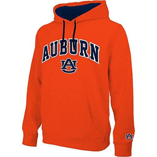 - Elite Fan Shop Auburn Tigers Hooded Sweatshirt Arch Orange - L